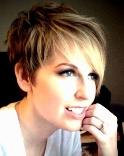 Girls Layered Short Hairstyle