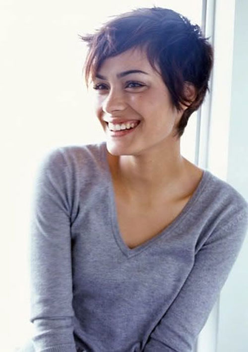 Cute Messy Pixie Cut