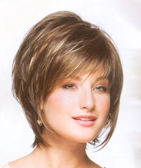 Short Layered Bob Hairstyles With Bangs: The Best Short Hairstyles For