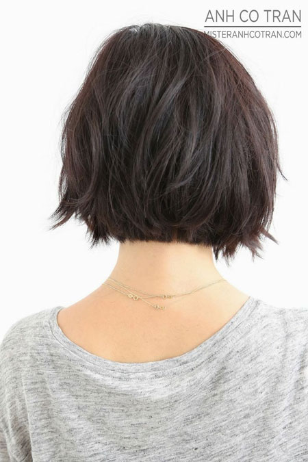 ... Back Of Head Hairstyle Photos For Medium Length Hair Short Hairstyle
