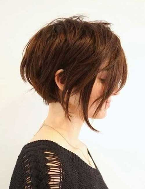 Short Haircut for Layered Thick Hair