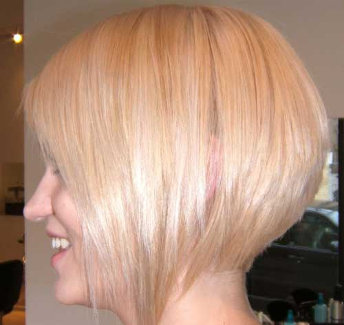 Cute short blonde haircuts