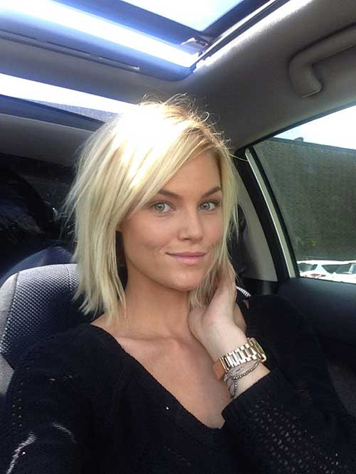 Graduated Cute Bob Haircut The Best Short Hairstyles For