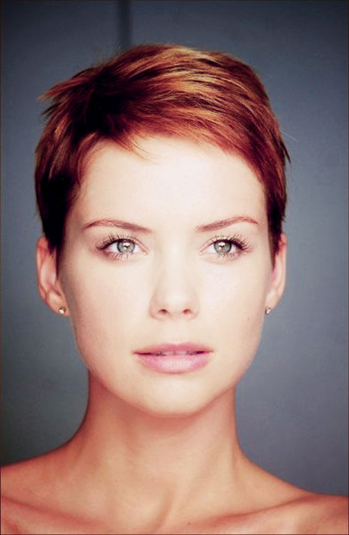 hair colour ideas for short hair 2015. pixie short copper hairstyles hair colour ideas for 2015
