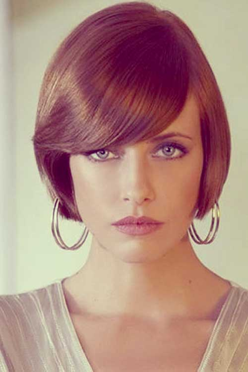 Short Tapered Bob Haircuts for Women