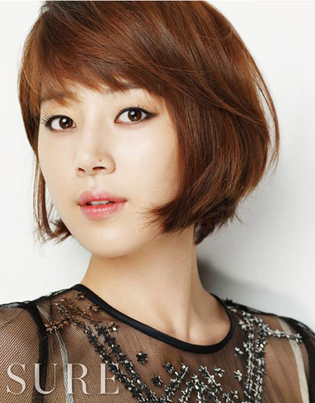 Korean bob hairstyles 2014