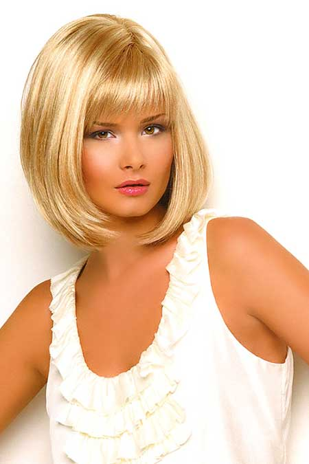 Bob Haircut with Bangs Long Haircuts 2014 Trends With Bangs