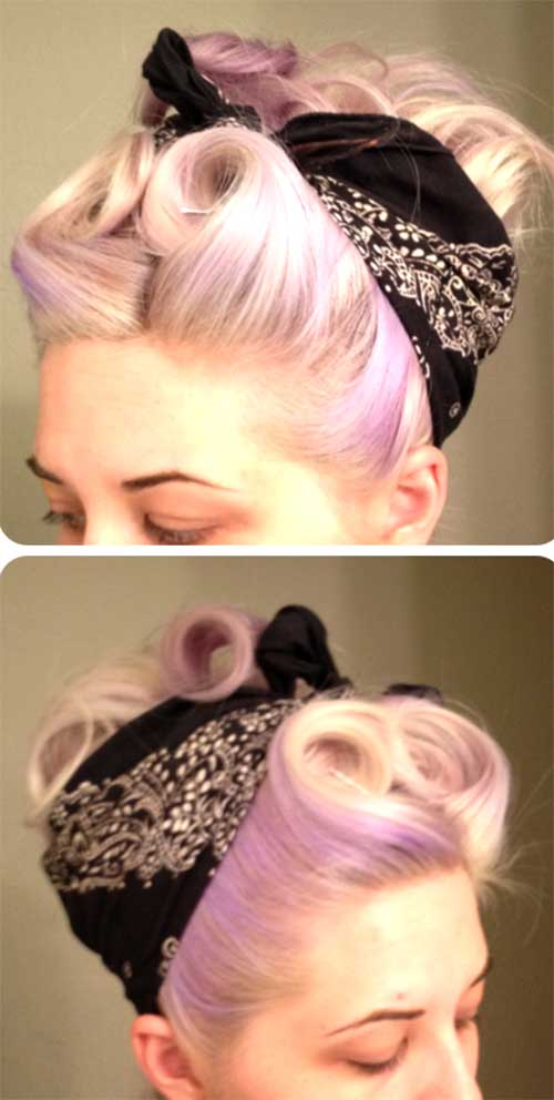 50s Short Hairstyles for Christmas