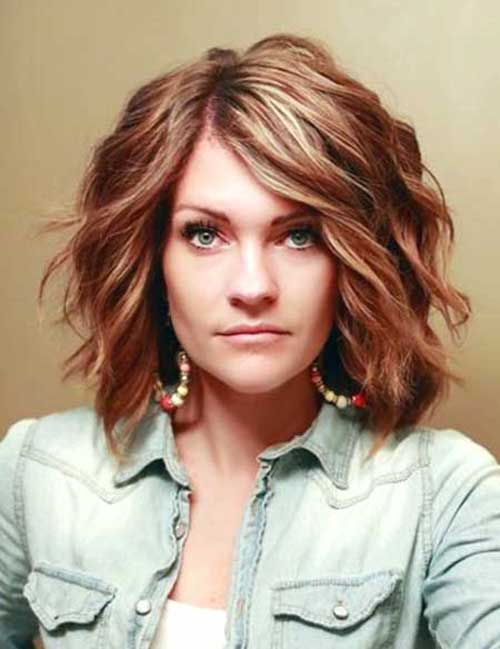 35 short wavy haircuts the best short hairstyles for women 2017 beautiful hair highlights pmusecretfo Images
