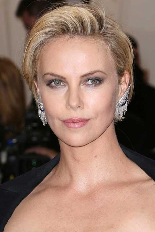 Classy Short Hairstyles for Christmas Party