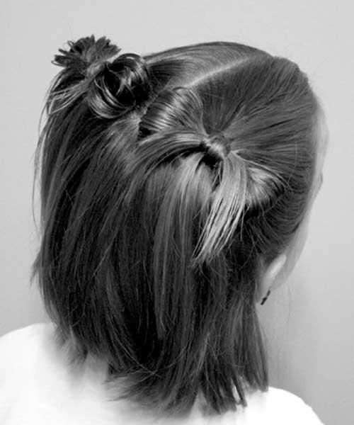 Cute Christmas Hairstyles Short Hair
