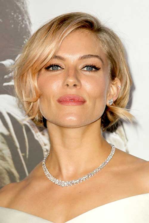 Gorgeous Short Hairstyles for Christmas Party