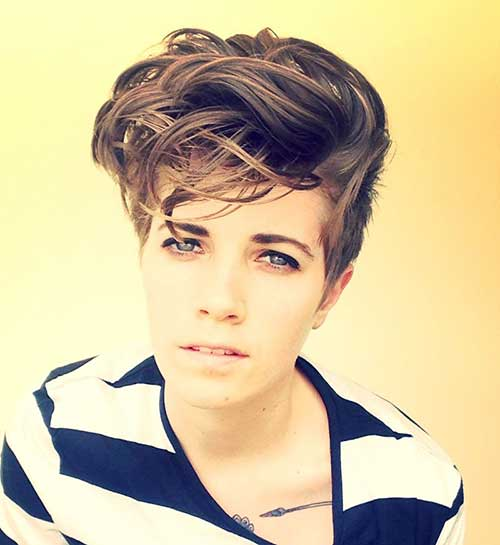 Messy Simple Pixie Hairstyle Ideas