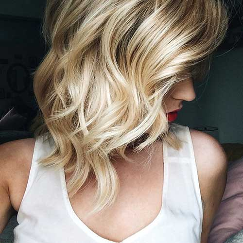 Perfect Waves for Short Hairstyle