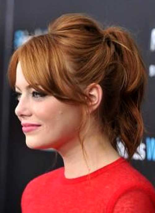 Best Ponytail Hairstyles for Short Christmas Hair