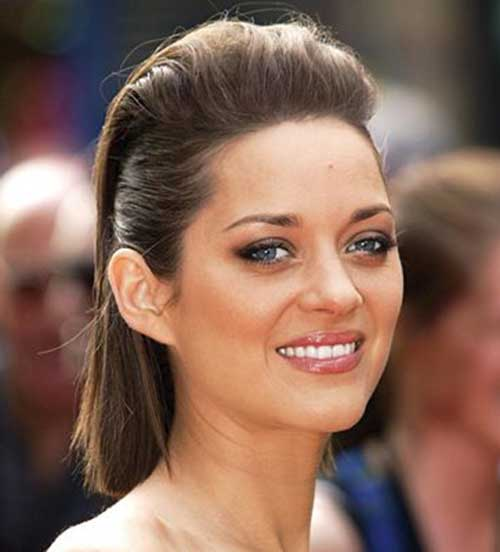 Pull Back Hairstyles for Short Christmas Hair