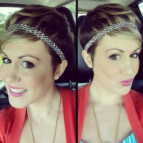 Hairstyles For Short Hair Christmas : Gallery of Christmas Hairstyles For Short Hair Picture Ideas With ...
