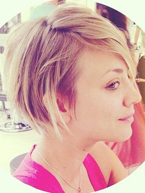 Kaley Cuoco New Hair