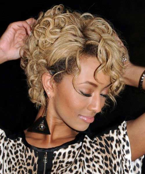 Pleasant Hair Style Short Curly Short Hair Fashions Hairstyle Inspiration Daily Dogsangcom