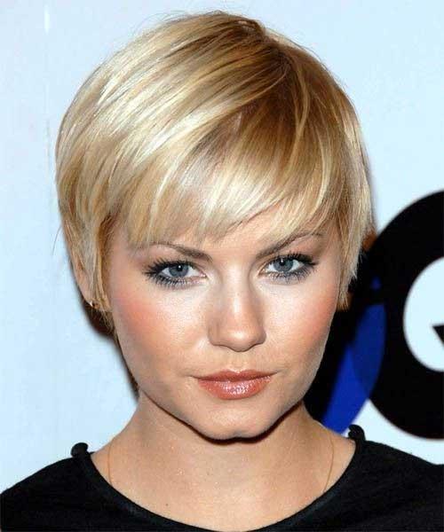 Cute Hairstyles For Thin Hair : Wispy bangs medium hair styles hairstyles haircuts short