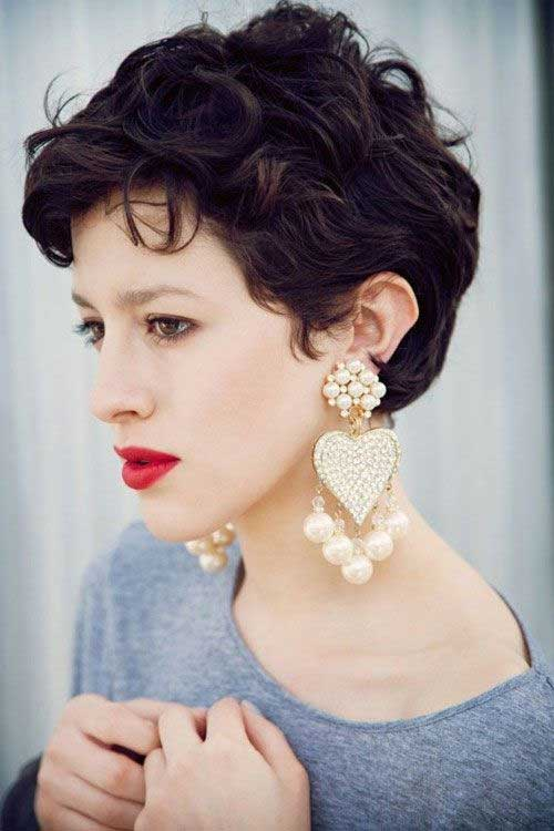 Short Pixie Haircuts with Curly Hair