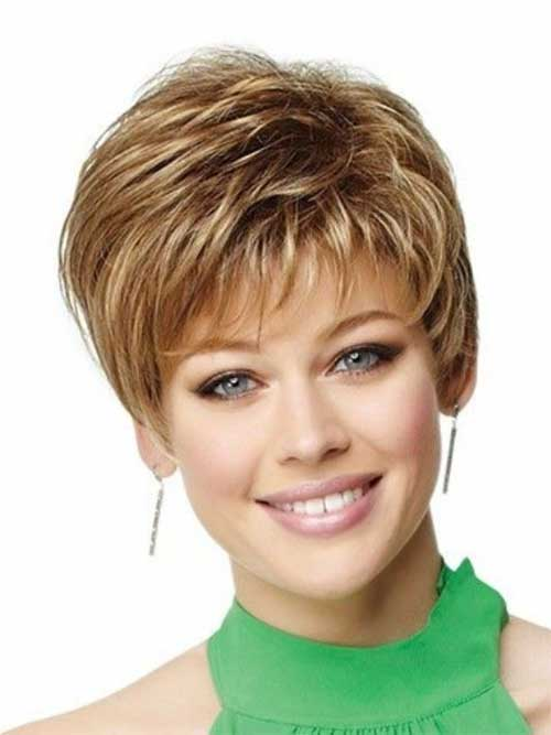 Cute Short Hairstyles for Blond Hair