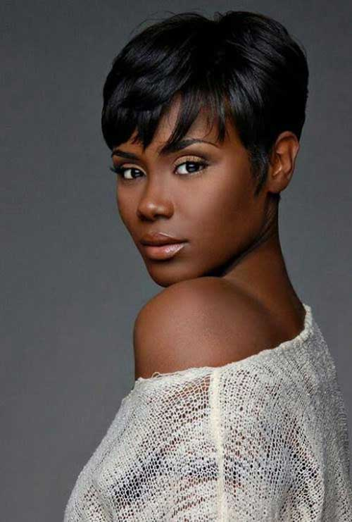 Hairstyles For Short Hair Black Girl : Short Haircuts For Black Women The Best Short Hairstyles for Women ...