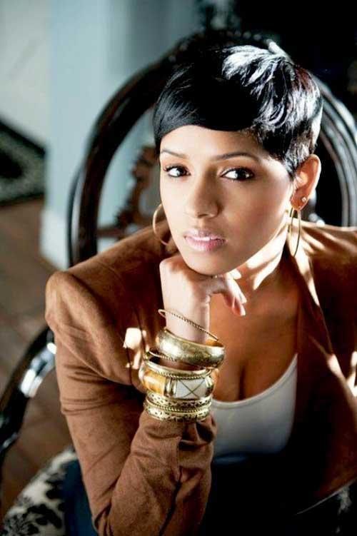 Pleasing 32 Natural Short Hairstyles For Black Women Lunako Short Hairstyles Gunalazisus