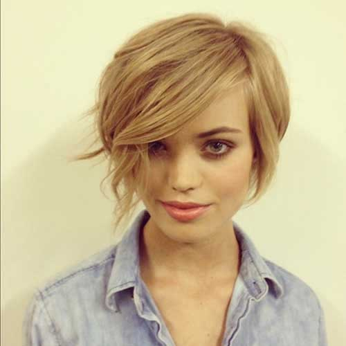 Long Haired Pixie Bob Long Bob Short Pixie Haircut