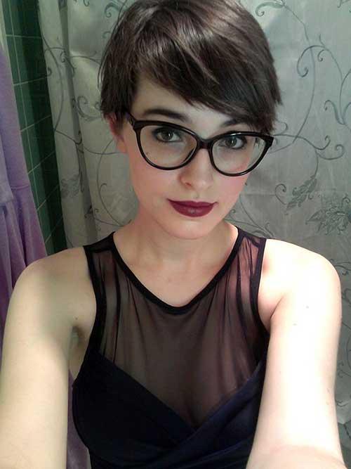 Megan Boonie Pixie Cut