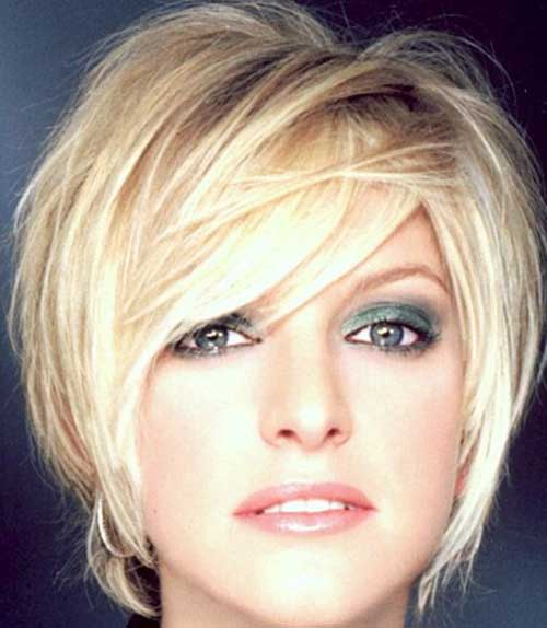 Medium Length Hairstyles For Older Women With Square Faces ...