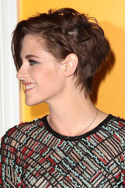 Kristen Stewart Pixie Hairstyle