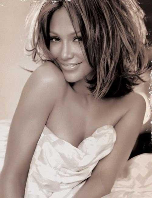 Jennifer Lopez Hairstyles Sassy Bob