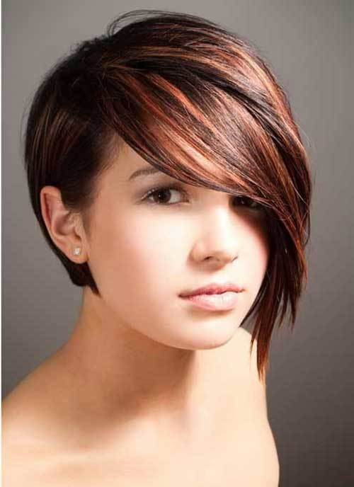 Short Haircut 2015 For Round Face