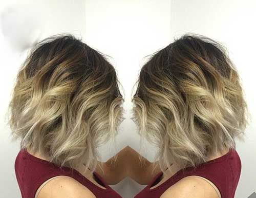 Balayage Short Hair Trend for 2015