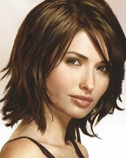 best layered hair style