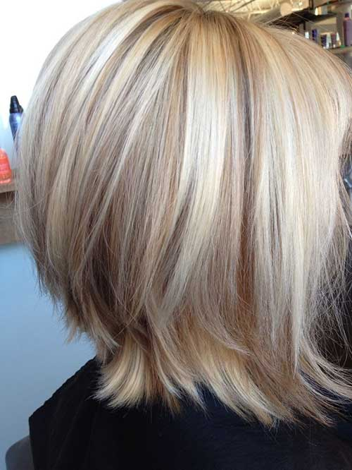 10. Cute Blonde Hairdo with High and Lowlights for Girls