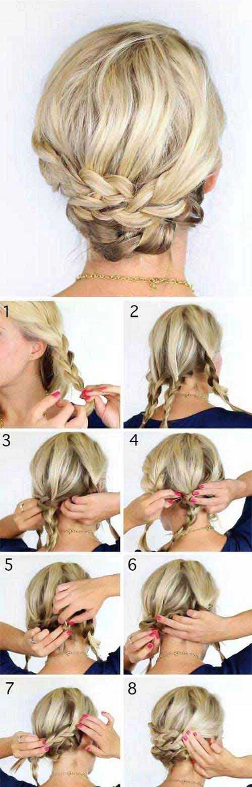 Coolest Updo Ideas for Prom