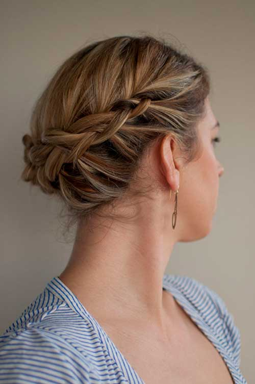 Coolest Updo Ideas for Short Hair