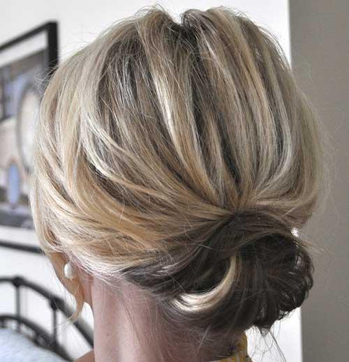 Wonderful Easy Updos Medium Length Hair