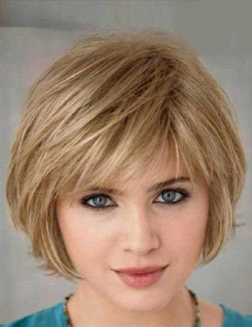 Short Bobs With Thin Straight Bangs | Short Hairstyle 2013