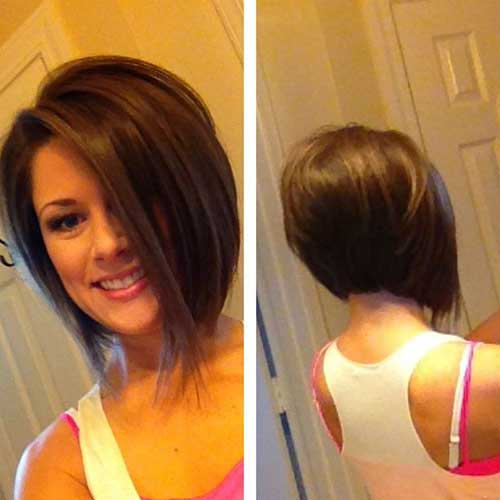 Inverted Bob With Bangs | The Best Short Hairstyles for ...