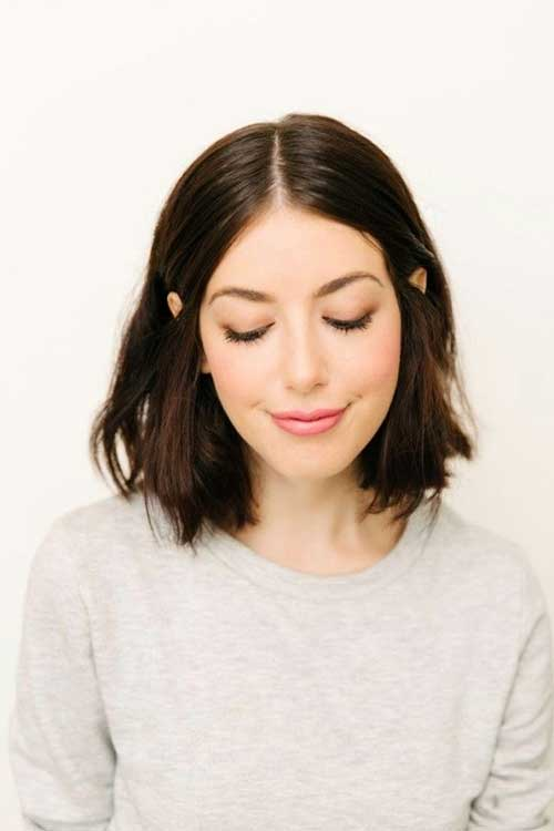 Messy Cute Bob Haircuts for Girls