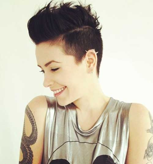 Cool Short Pixie Haircuts Women