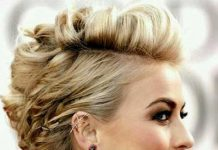 Julianne Hough Prom Updos for Short Hair