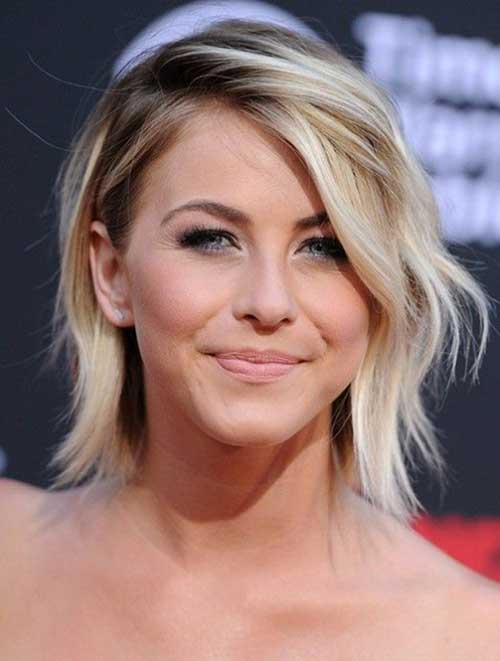 Short and Sassy Ombre Hair Color Side Apart