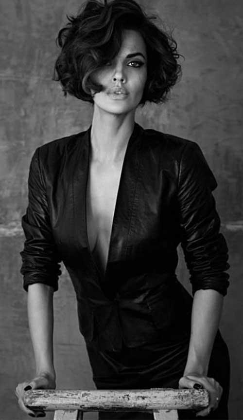 Michella Cruz Short Curly Hairstyles for Women