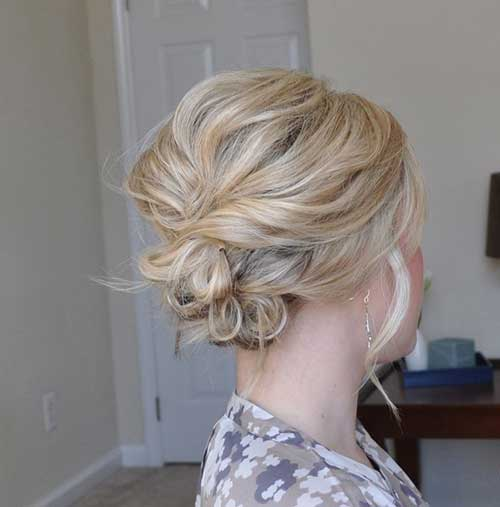 Quick Coolest Short Hair Prom Updos