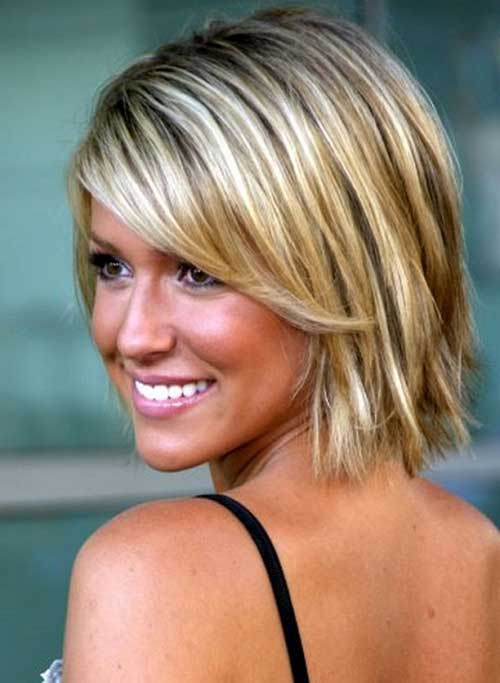 Trendy Short Blonde Hairstyles Cute