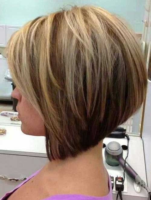 Blonde A Line Haircut 10